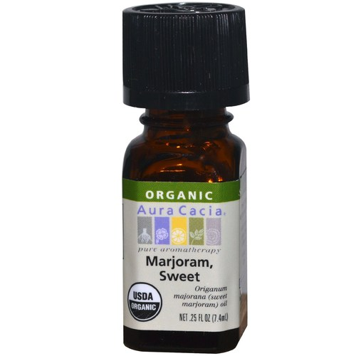 Organic Sweet Marjoram Essential Oil