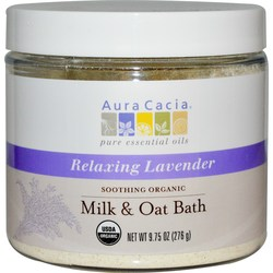 Aura Cacia Organic Milk & Oat Bath Mix
