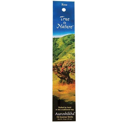 Auroshika Incense Sticks Rose - 16 Incense Sticks