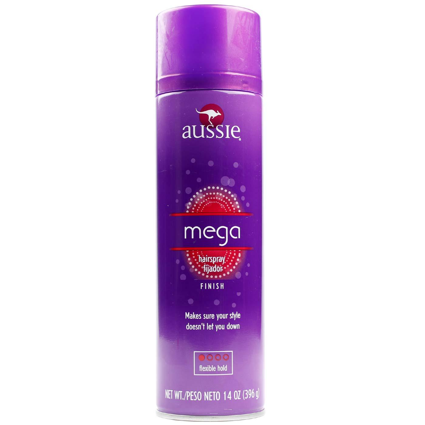 Aussie Mega Hairspray 14 Oz Evitamins Com