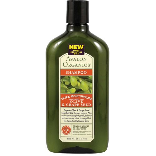 Olive & Grape Seed Moisturizing Shampoo