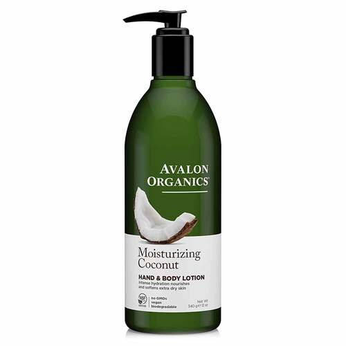 Avalon Organics Hand and Body Lotion Moisturizing Coconut - 12 oz - 350318_front.jpg