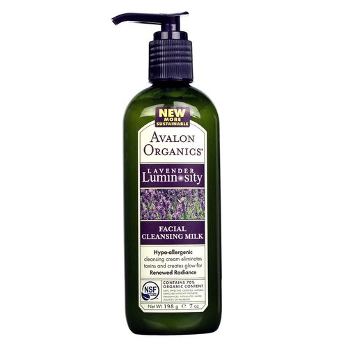 Lavender Facial Cleansing Milk