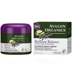 Avalon Organics Lavender Luminosity Ultimate Night Cream