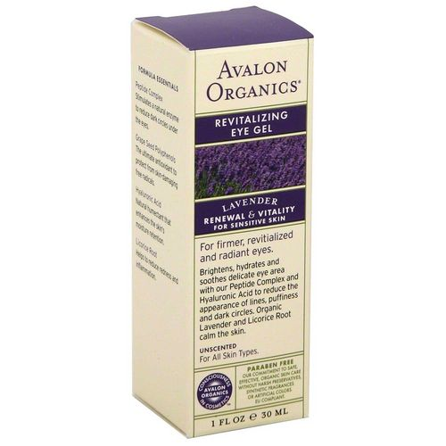Lavender Revitalizing Eye Gel