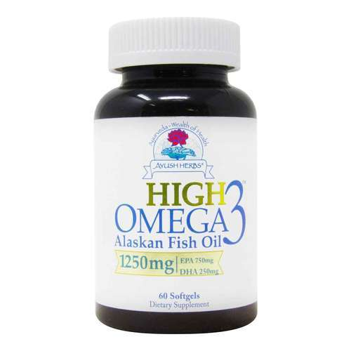 Ayush Herbs High Omega-3 - 60 粒 - 312148_front2020.jpg