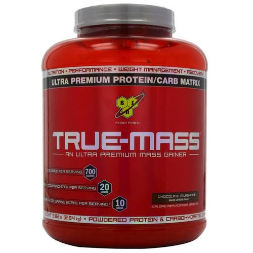 BSN True Mass Chocolate Milkshake - 5.75 lbs - 13875.jpg