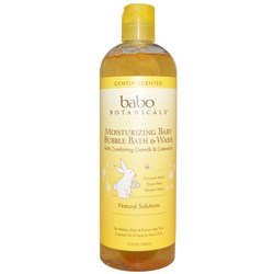 Babo Botanicals Baby Bubble Bath  Wash