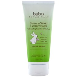 Babo Botanicals Swim and Sport Conditioner Cucumber Aloe