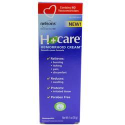 Bach Flower Remedies H Plus Care Hemorrhoid Cream