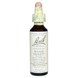 Bach Flower Remedies Water Violet Flower Essence