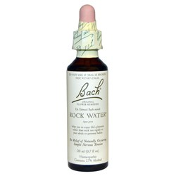 Bach Flower Remedies Rock Water Flower Essence