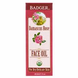 Badger Face Oil - Damascus Rose