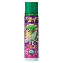 Badger Lip Balm - Highland Mint