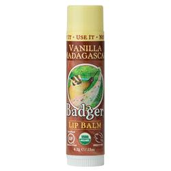 Badger Lip Balm - Vanilla Madagascar