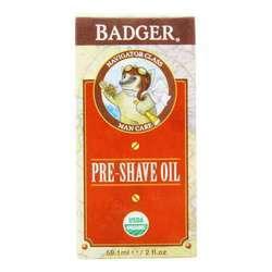 Badger Man Care Pre-Shave Oil