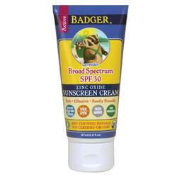 Badger Sunscreen Cream - SPF 30