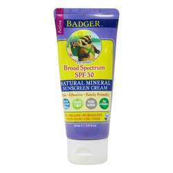 Badger Sunscreen Cream - SPF 30