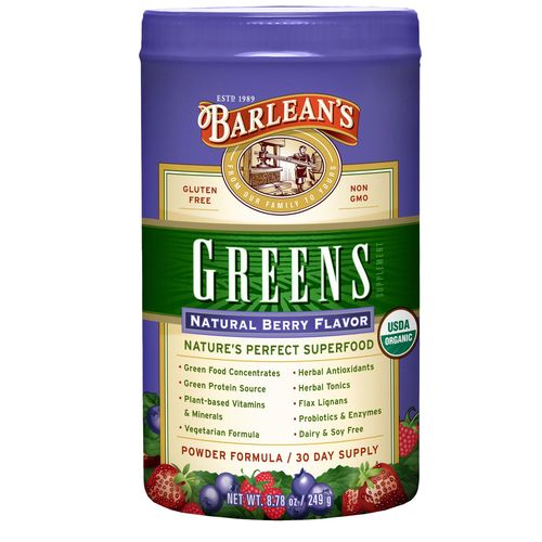 Barlean's Berry Greens Berry - 9.4 oz