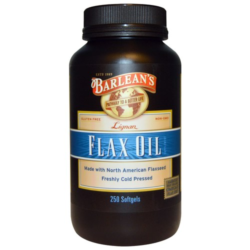 Lignan Flax Oil Softgels