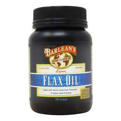 Barlean's Lignan Flax Oil Softgels