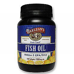 Barlean's Fresh Catch Fish Oil Softgels