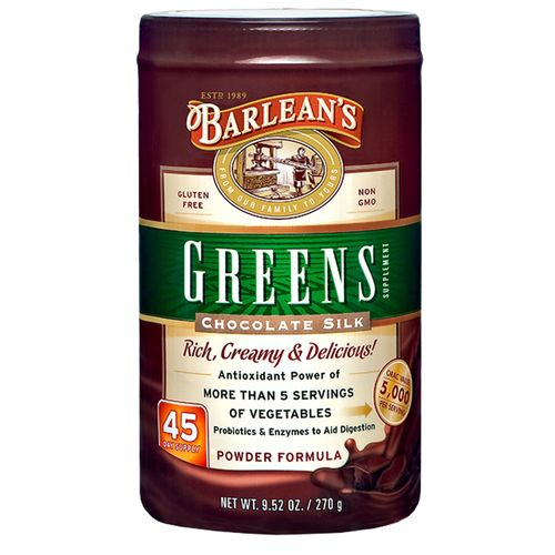 Chocolate Greens