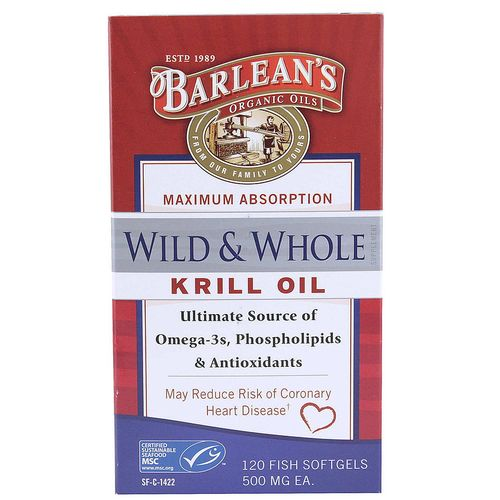 Wild and Whole Krill Oil