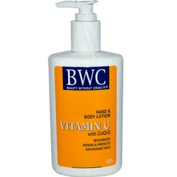 Beauty Without Cruelty Organic Vitamin C w CoQ10 Hand  Body Lotion
