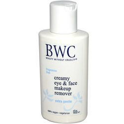 Beauty Without Cruelty Creamy Eye  Face Makeup Remover