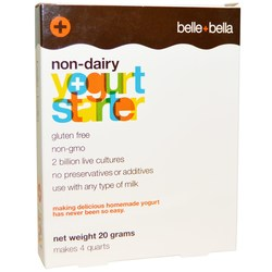 Belle and Bella Non-Dairy Yogurt Starter