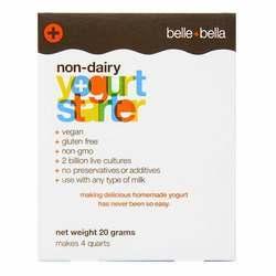 Belle and Bella Non-Dairy Yogurt Starter