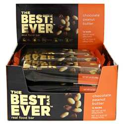 Best Bar Ever Real Food Bar Chocolate Peanut Butter