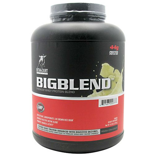 Betancourt Nutrition Big Blend White Chocolate - 4.25 lbs (1,925g)