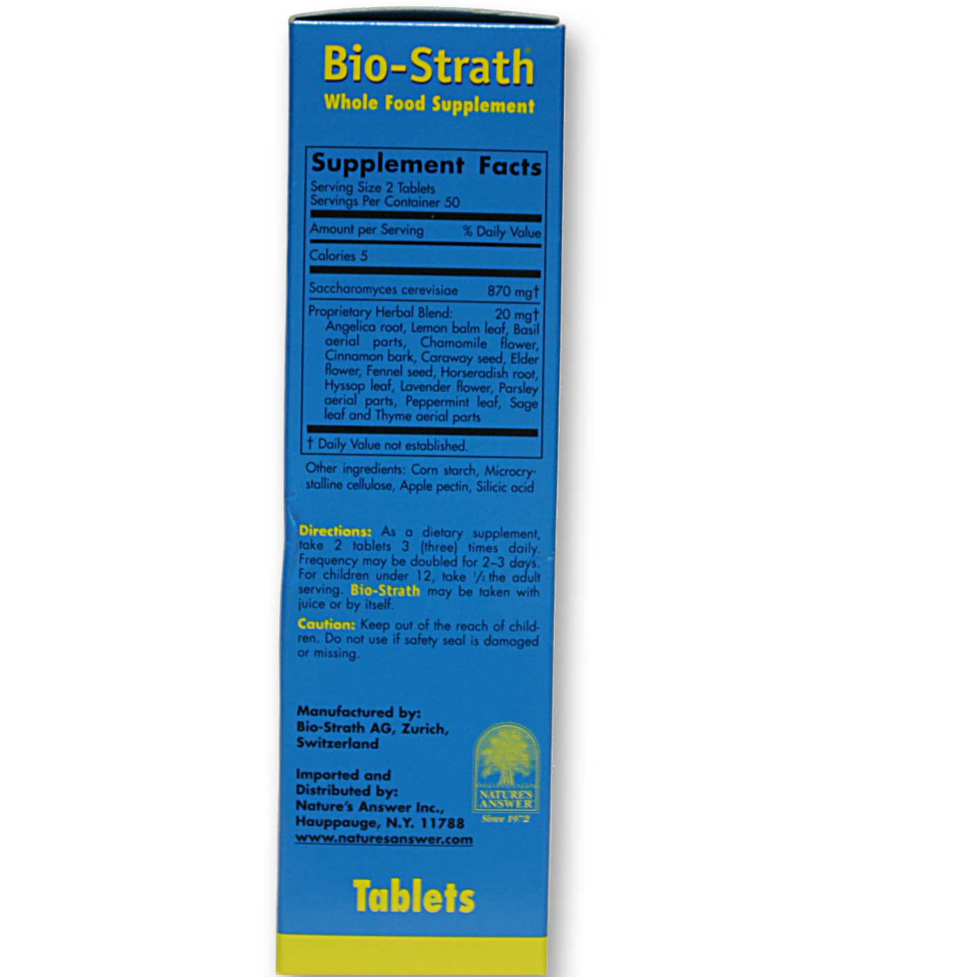 Bio-Strath Bio-Strath Tablets - 100 Tablets