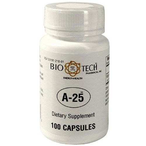 BioTech Pharmacal A-25 - 100 Capsules