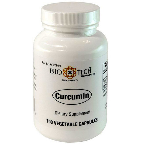 BioTech Pharmacal Curcumin - 100 Vegetable Capsules