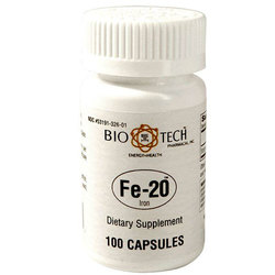 BioTech Pharmacal Fe-20