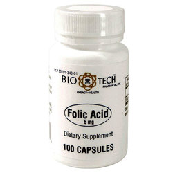 BioTech Pharmacal Folic Acid