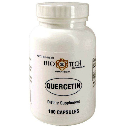BioTech Pharmacal Quercetin  - 100 Capsules