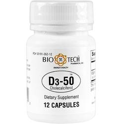 BioTech Pharmacal D3-50