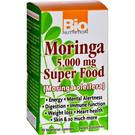 Bio Nutrition Moringa 5.000 mg Super Food 60 Cápsulas Vegetarianas