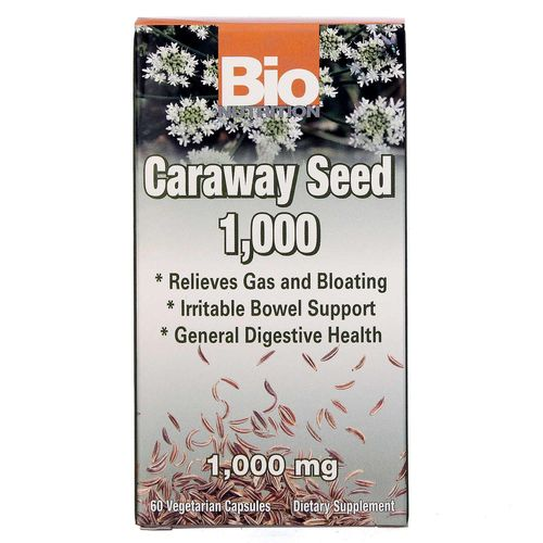 Bio Nutrition Caraway Seed 1000 mg  - 60 VCapsules - 20130315_118.jpg