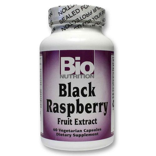 Bio Nutrition Black Raspberry Fruit Extract  - 60 Capsules - 20120430_200.jpg