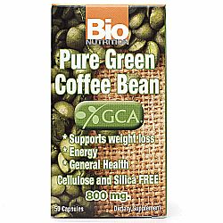 Bio Nutrition Pure Green Coffee Bean - 50 Caps