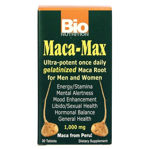 Bio Nutrition Maca-Max - 30 Tablets - 20130315_136.jpg