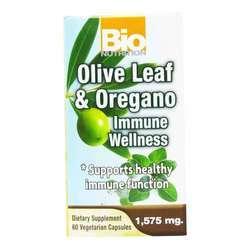 Bio Nutrition Olive Leaf and Oregano Immune Wellness