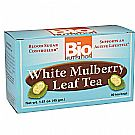 White Mulberry Leaf Tea 30 Bags by Bio Nutrition