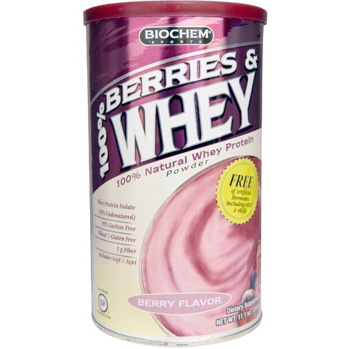 100% Berries & Whey