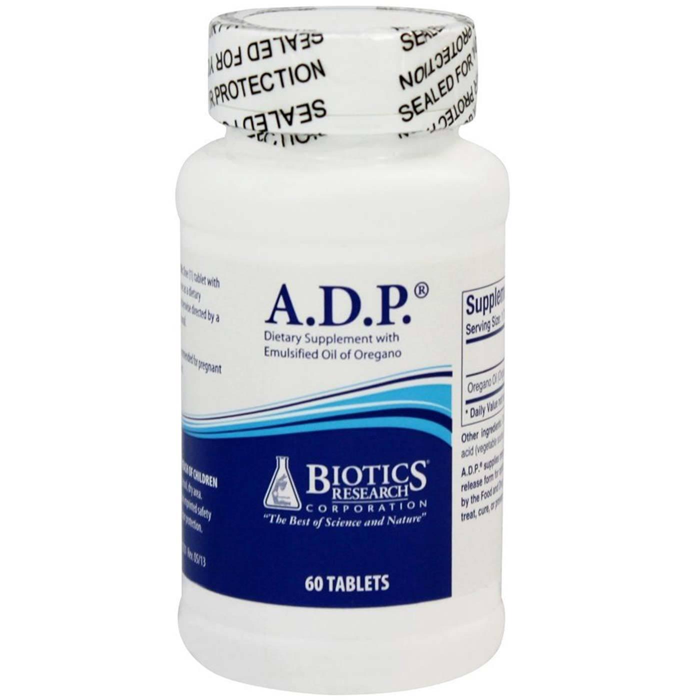 Biotics Research A D P  - 60 Tablets